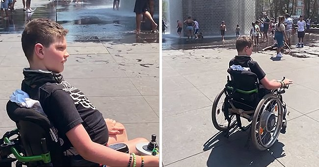 10-Year-Old Boy Was Kicked Out of Fountain Because of His Disability, Family Claims
