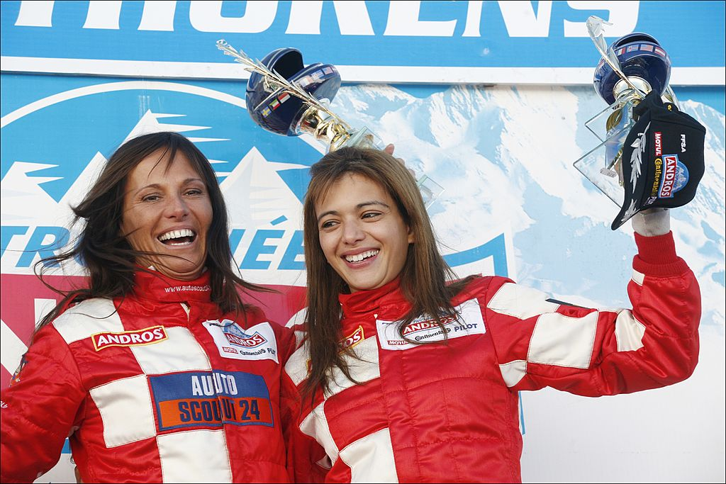 Nathalie Marquay et Jade   source : Getty Images