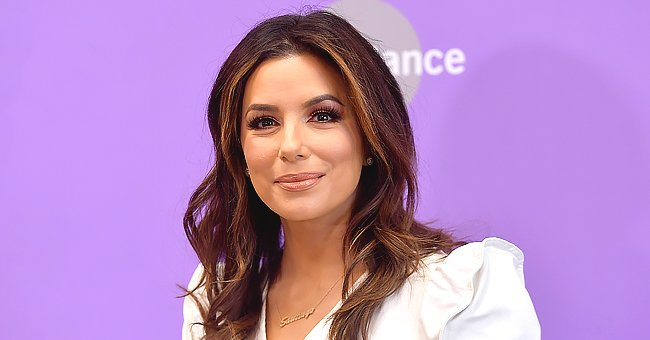 Eva Longoria Bonds with Her Son Santi during Trampoline Exercise — See the Adorable Video