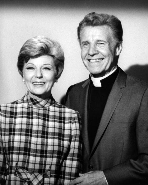 """Ozzie and Harriet Nelson starred as an unmarried reverend and his single companion in """"Love and Take Me Along"""" - Season One - 11/3/69 
