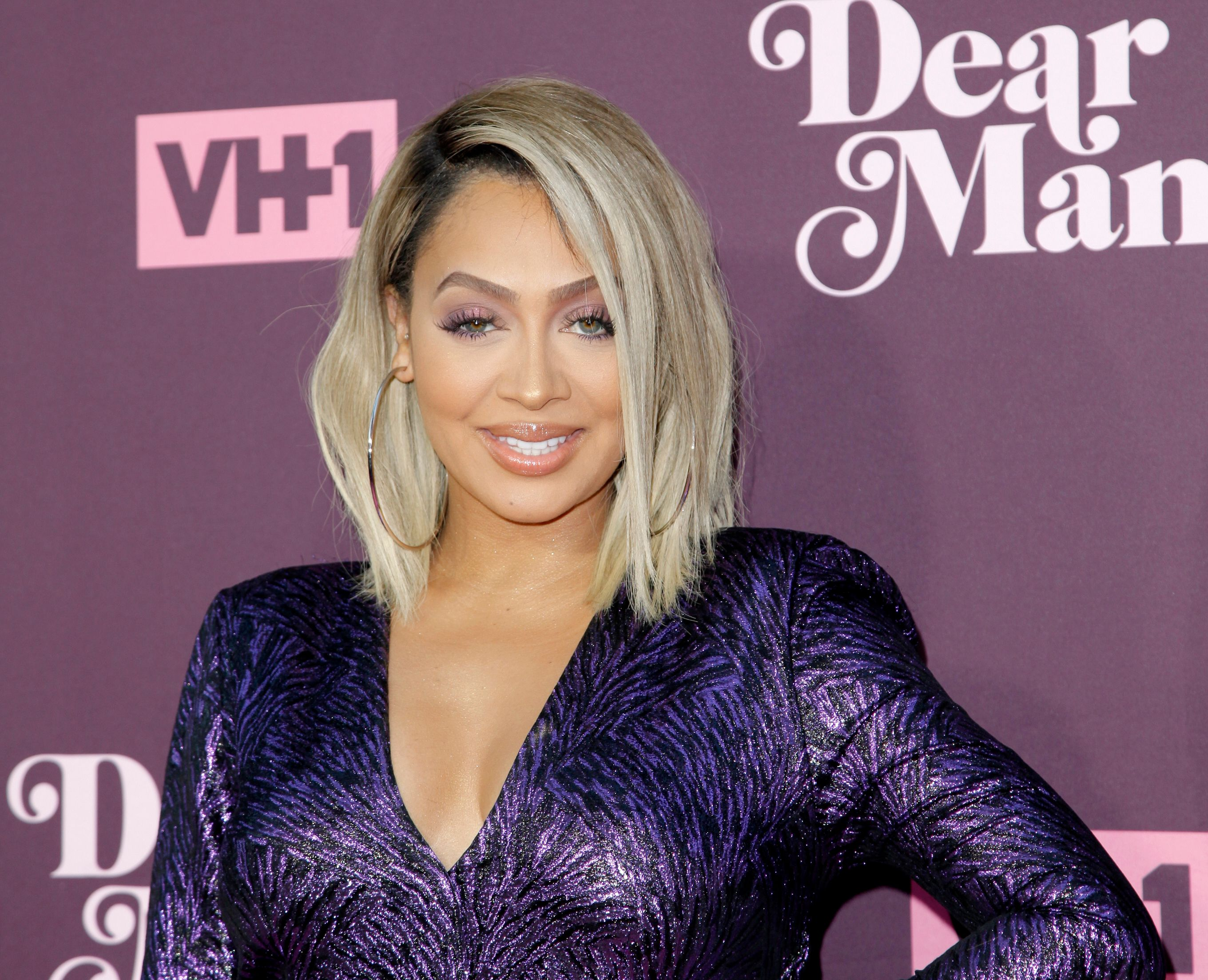 "La La Anthony at VH1's 3rd annual ""Dear Mama: A Love Letter To Moms"" screening at The Theatre at Ace Hotel on May 3, 2018 