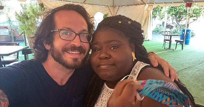 Gabby Sidibe's Fiancé Shows Her Glowing Smile in a Post as She Chats with Him after Shopping