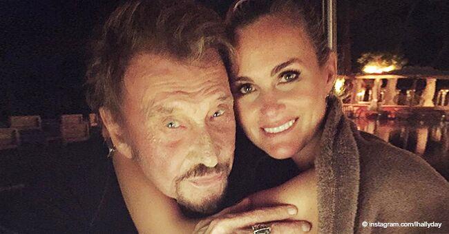 Laeticia Hallyday félicite son ami avec la vidéo nostalgique où Johnny était encore en vie