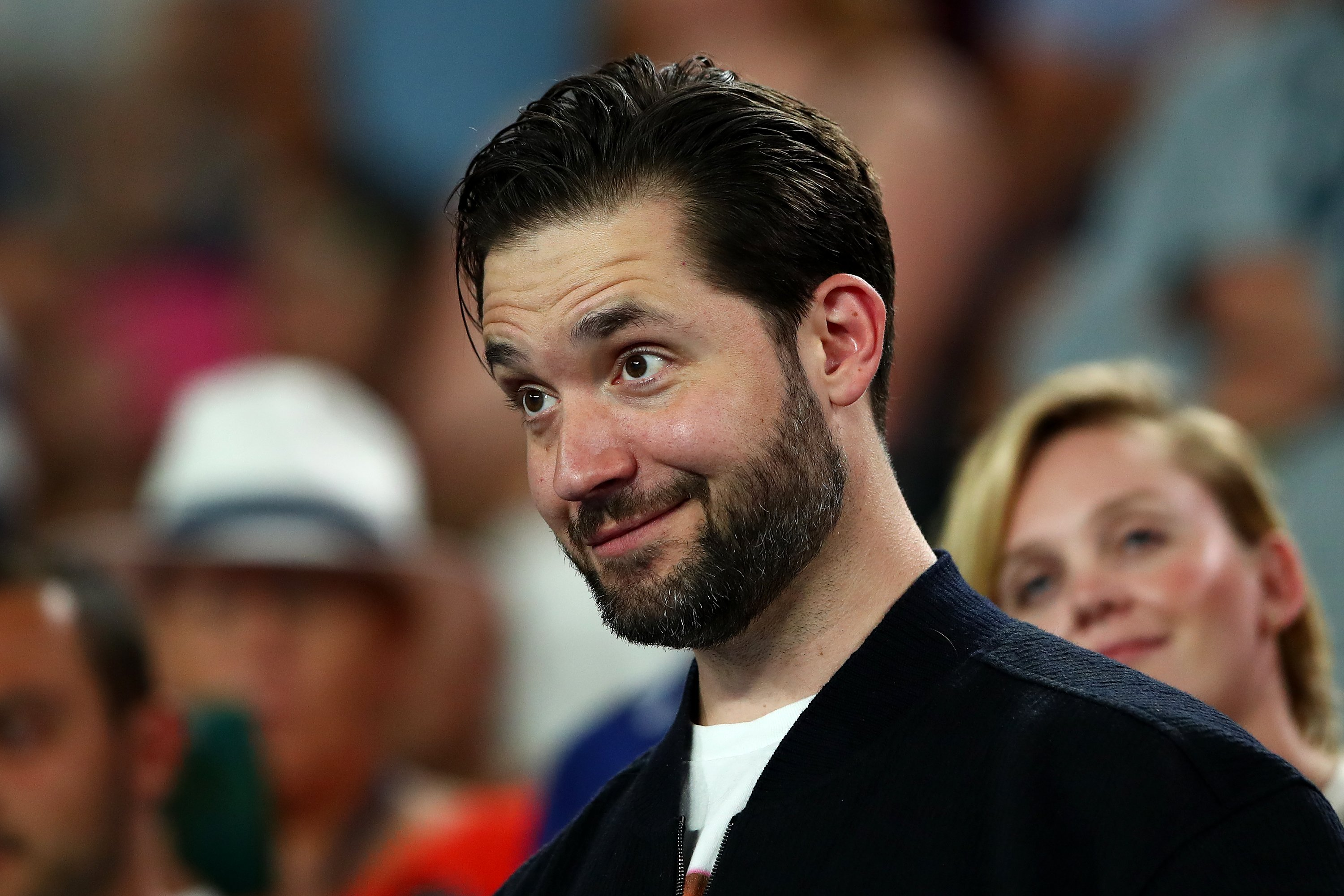 Alexis Ohanian at the Australian Open at Melbourne Park on January 17, 2019 | Photo: GettyImages