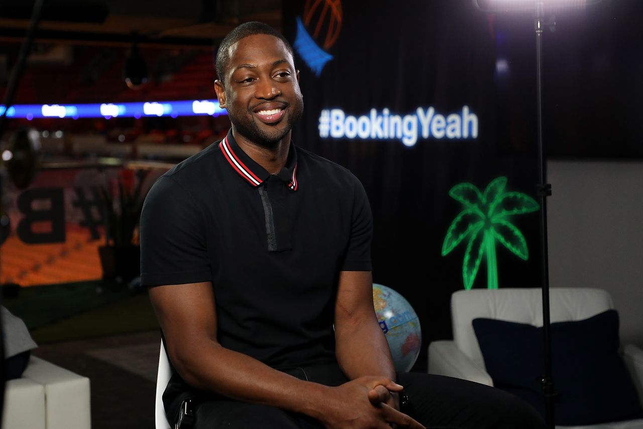 "Booking.com kicks off its ""Book the U.S."" list With Dwyane Wade on March 7, 2018. 