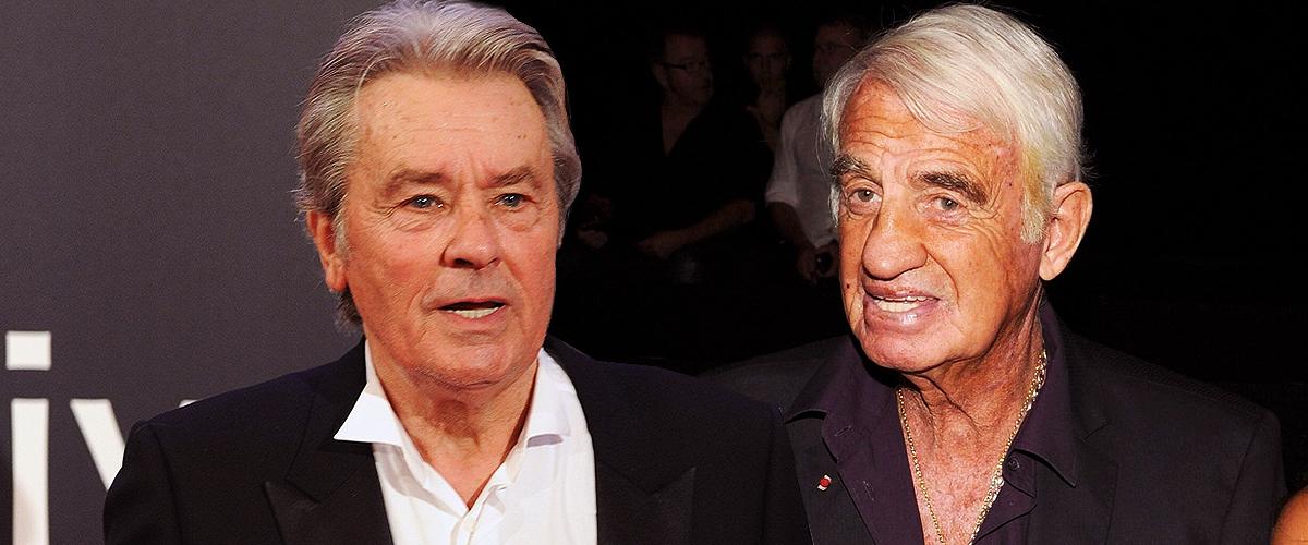 Alain Delon marqué par les paroles de Jean-Paul Belmondo sur le décès de Mireille Darc