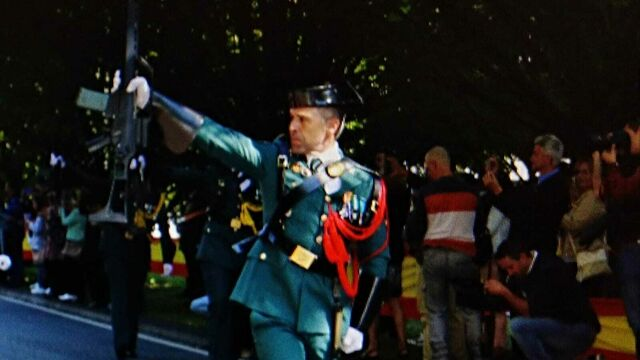 Diego Manuel Pérez de servicio durante una parada | Foto: YouTube/NoticiasdeLara