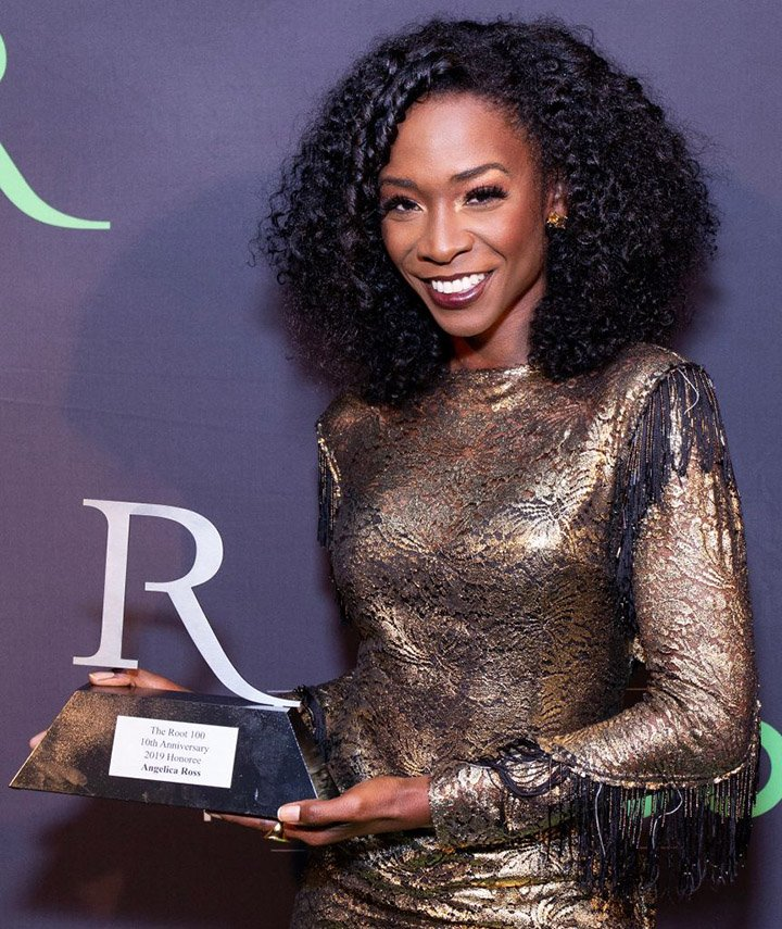 Angelica Ross attends the 2019 ROOT 100 Gala at The Angel Orensanz Foundation on November 21, 2019 in New York City. I Image: Getty Images.