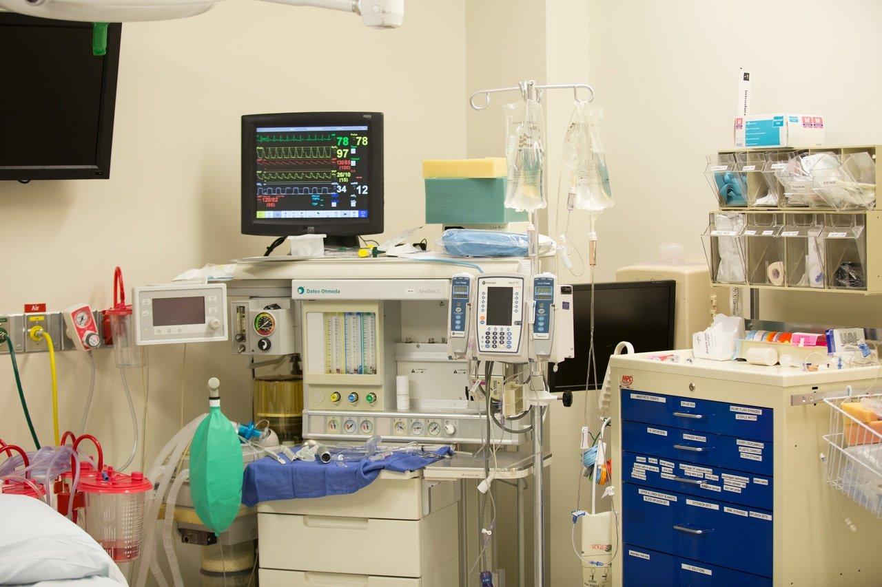 Habitación de hospital. Fuente: PxHere