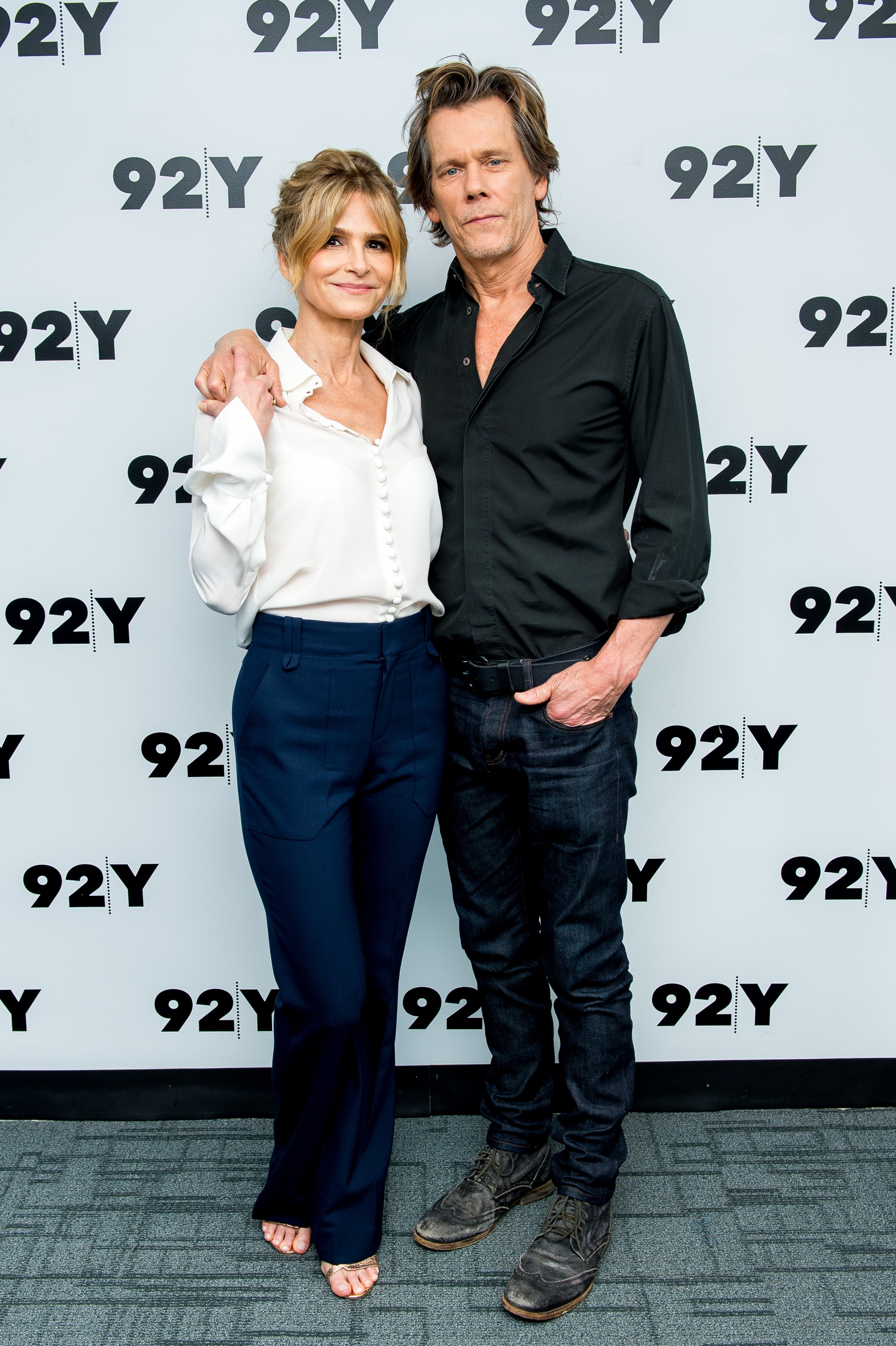Kyra Sedgwick and Kevin Bacon attend In Conversation at 92nd Street Y on July 19, 2017 | Photo: GettyImages