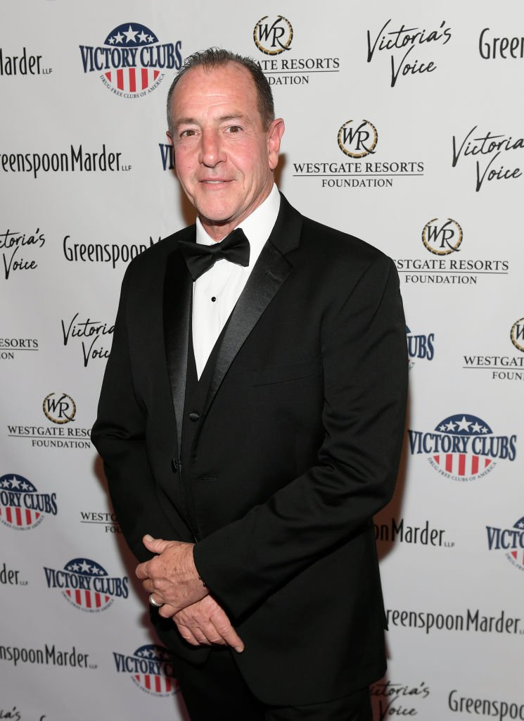 """Michael Lohan at """"Victoria's Voice - An Evening to Save Lives""""  at the Westgate Las Vegas Resort & Casino on October 25, 2019   Photo: Getty Images"""