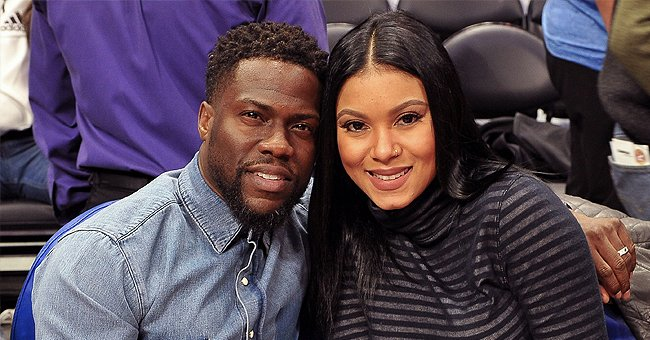 Kevin Hart's 6-Month-Old Daughter Kaori Mai Melts Hearts with Her Cute Eyes in a Close up Snap