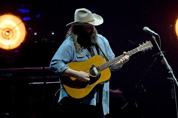 Chris Stapleton at Bridgestone Arena on February 10, 2020, in Nashville, Tennessee. | Photo: Getty Images