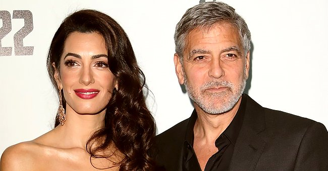Here's How Long George Clooney Says He Remained on His Knee While Proposing to Wife Amal