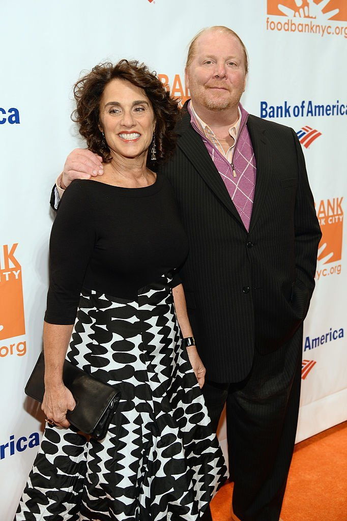 Mario Batali and Susan Cahn attend the Food Bank. | Source: Getty Images