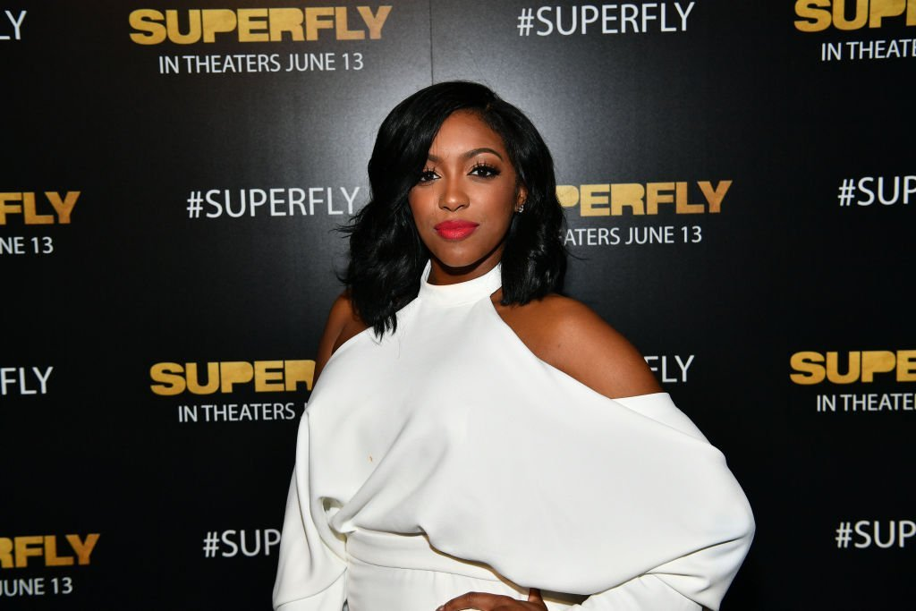 "TV personality Porsha Williams attends Columbia Pictures ""Superfly"" Atlanta special screening 