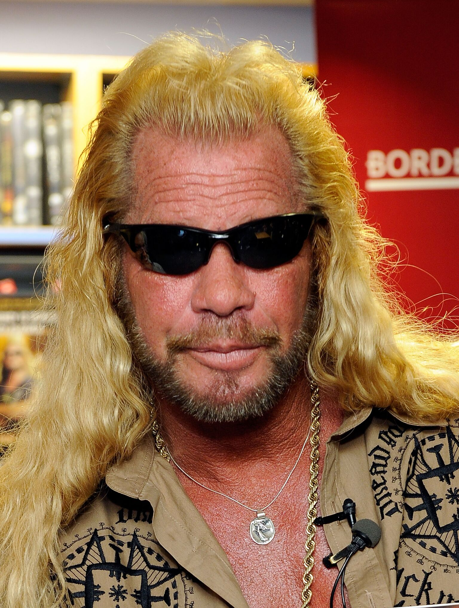"""Dog the Bounty Hunter promotes his book """"When Mercy Is Shown, Mercy Is Given"""" 