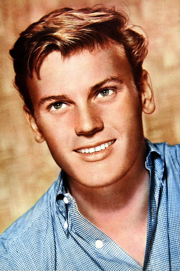 A portrait of Tab Hunter on January 1, 1950.   Photo: Getty Images