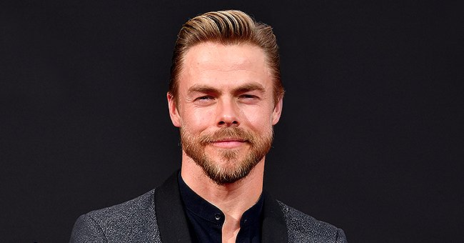Derek Hough from 'World of Dance' Shares Adorable Childhood Photo with 3 Look-Alike Sisters