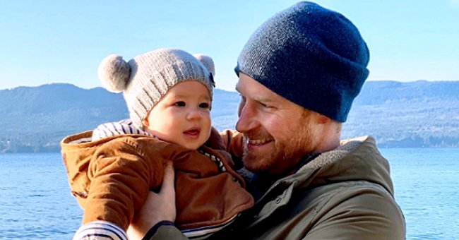 Prince Harry Reportedly Couldn't Stop Kissing Baby Archie as They Reunited in Canada after 10 Days Apart