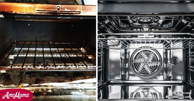 Limpiar el horno nunca fue tan fácil y rápido, con elementos que hay en todas las casas
