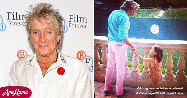 Sir Rod Stewart's First Grandchild Is All Grown up and Shares Her Grandpa's Passion for Music
