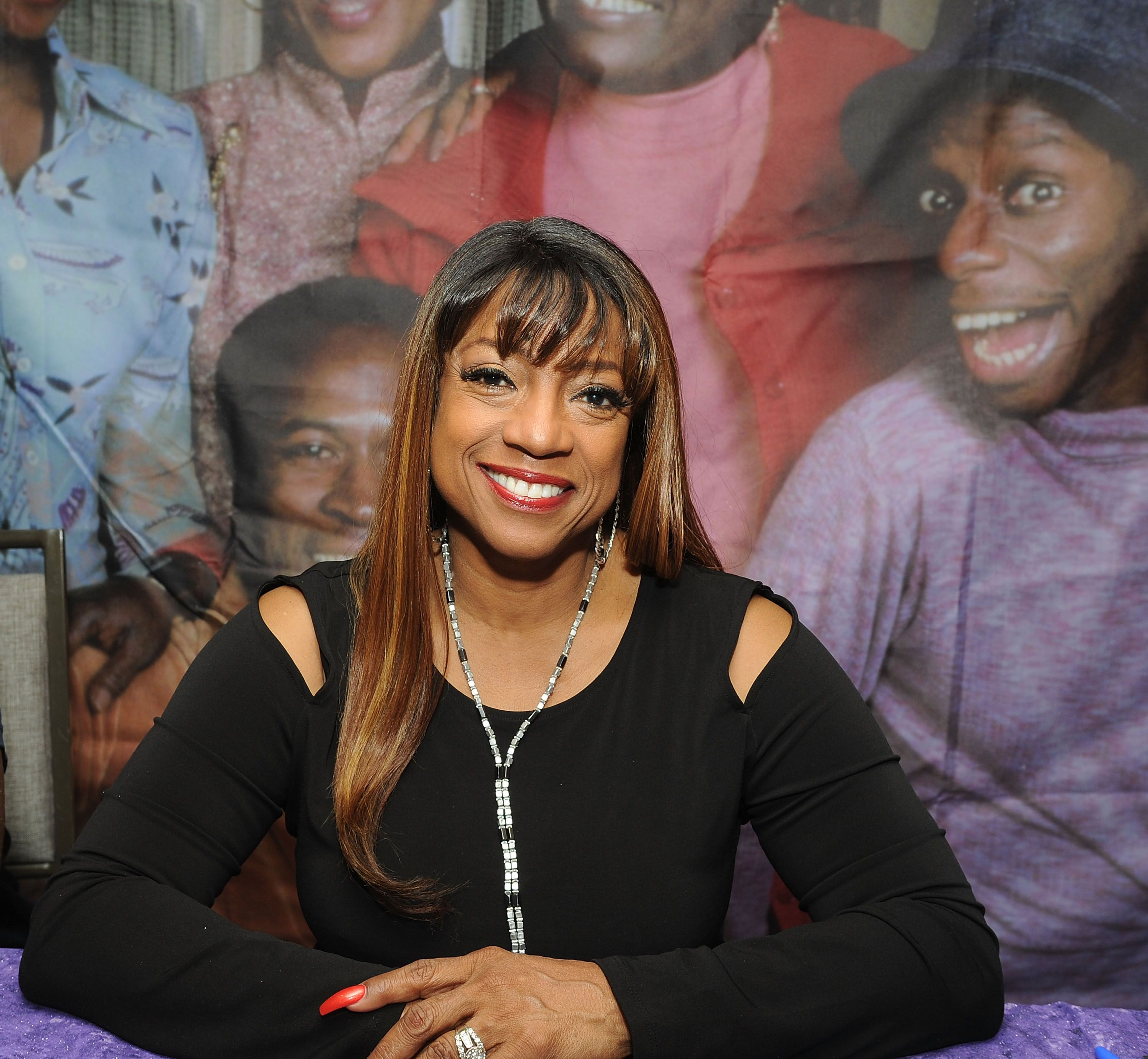 BernNadette Stanis attends the Chiller Theatre Expo Fall 2018 at Hilton Parsippany on October 26, 2018. | Photo: Getty Images