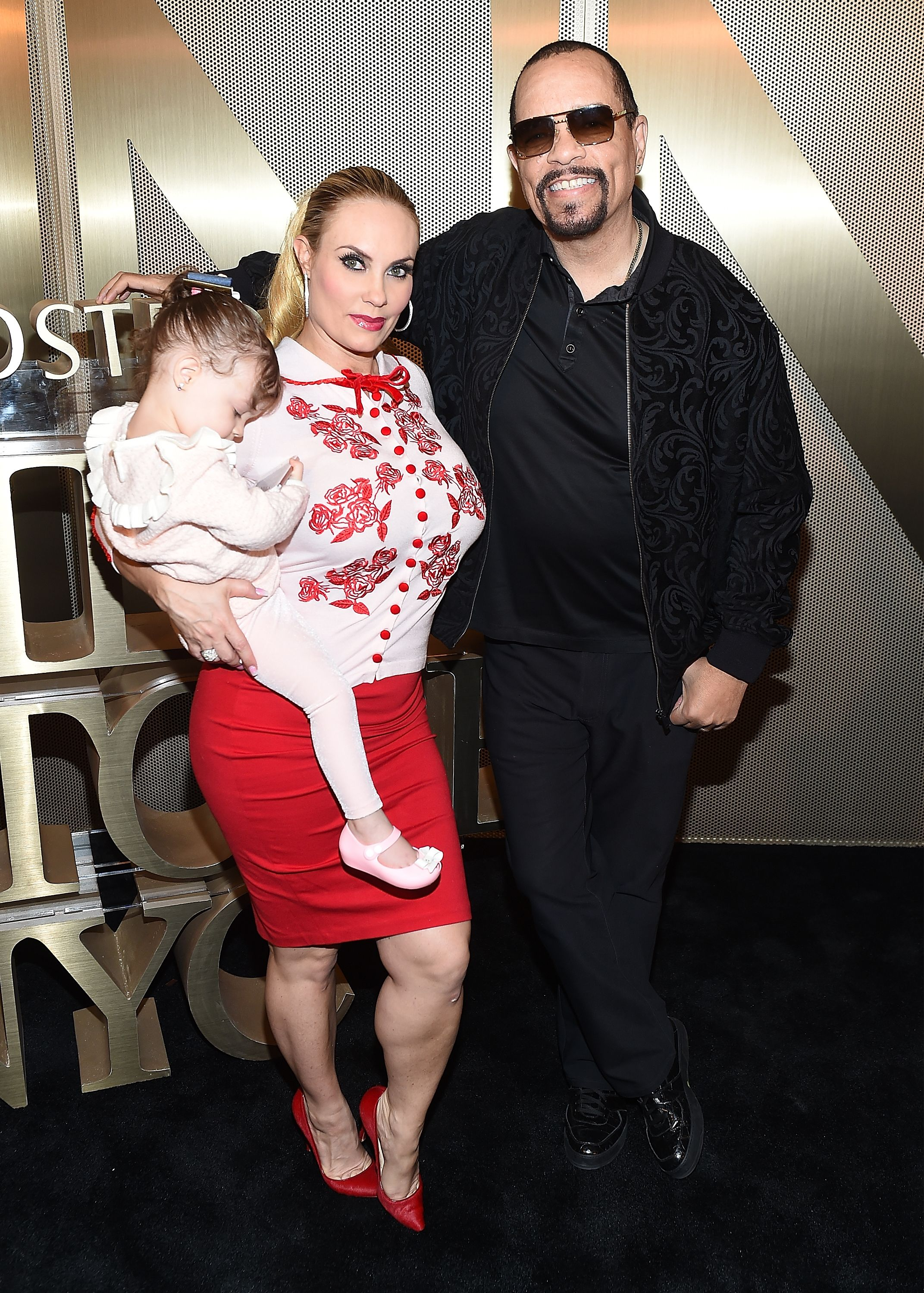 Coco Austin, Chanel, and Ice-T at the Nordstrom Men's NYC Store Opening in 2018/ Source: Getty Images