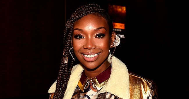 Brandy of 'Moesha' Fame Stuns with Her Blonde Braids & Colorful Makeup in Gorgeous Photo