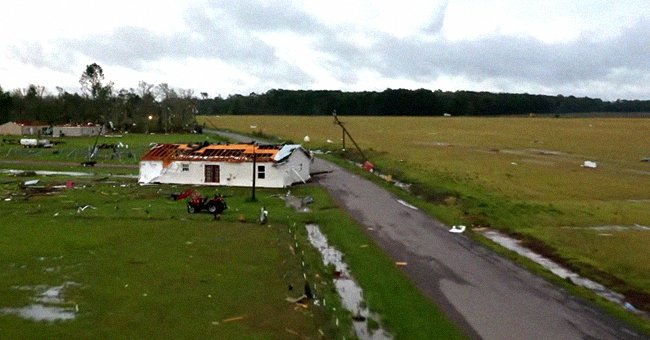 Severe Weather Outbreak Causes a Tornado in Louisiana Leaving 2 People Dead and 7 Injured