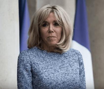 Brigitte Macron. | Youtube/new horizon