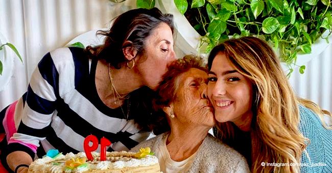 Paz Padilla rinde homenaje a su madre por su 91 cumpleaños