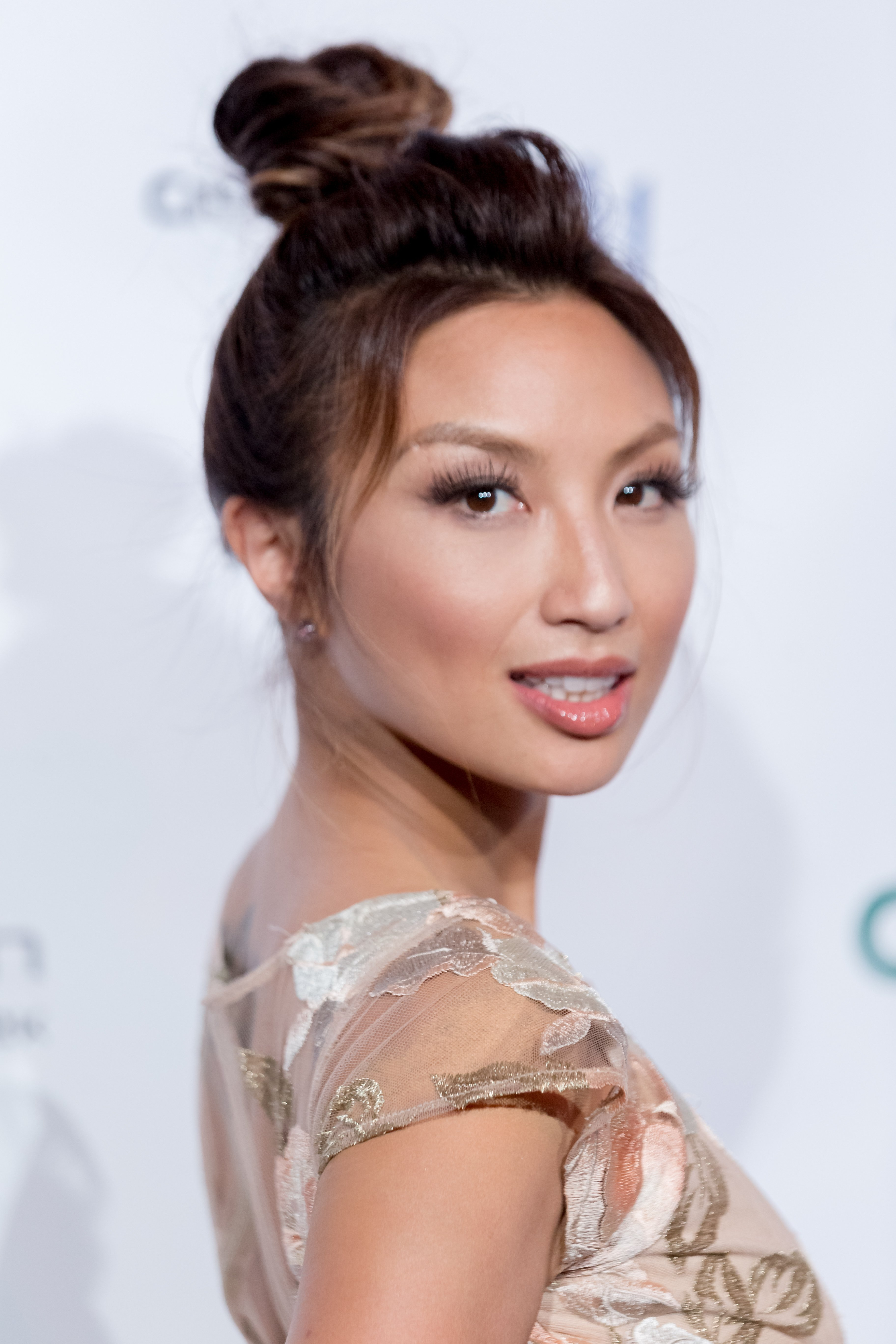 Jeannie Mai at the Metropolitan Fashion Week on September 29, 2016, in California.   Photo: Getty Images