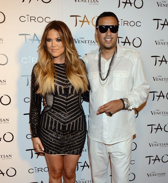 Khloe Kardashian and French Montana arrives at Khloe Kardashian's 30th birthday party at TAO Nightclub on July 4, 2014 in Las Vegas, Nevada | Photo: Getty Images