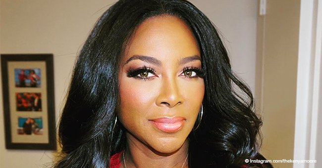 Kenya Moore Shows off Rock-Hard Abs While Revealing the Secret to Her Rapid Weight Loss