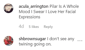More fan comments on Pilar's post | Instagram: @pilarjhena
