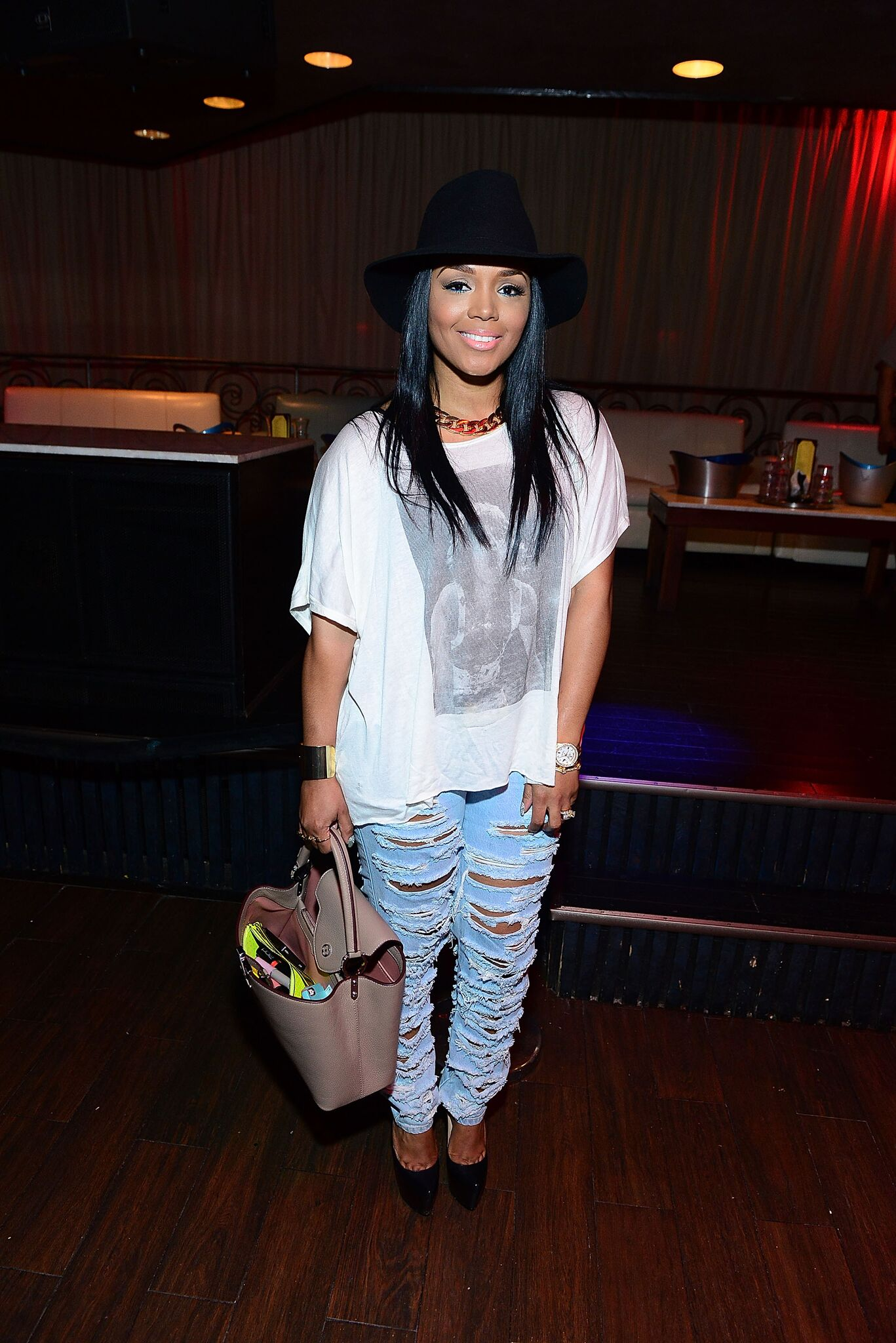 Recording artist Rasheeda Frost attends Branding A Beauty at Havana Club | Getty Images