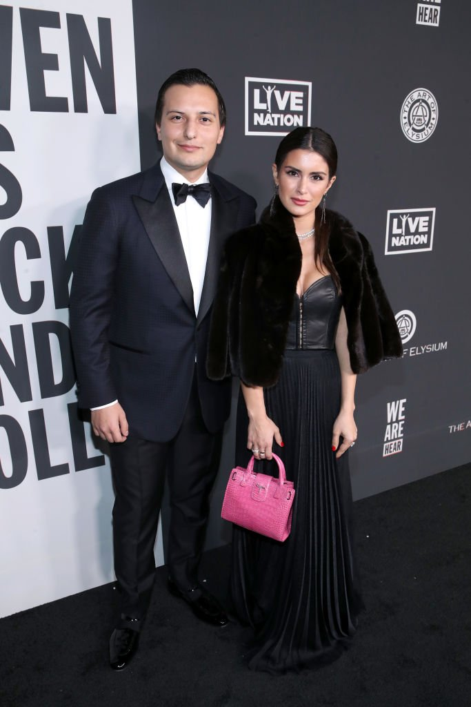 Nicolas Bijan and Roxy Sowlaty at The Art Of Elysium Presents WE ARE HEAR'S HEAVEN 2020 at Hollywood Palladium on January 04, 2020 | Photo: Getty Images