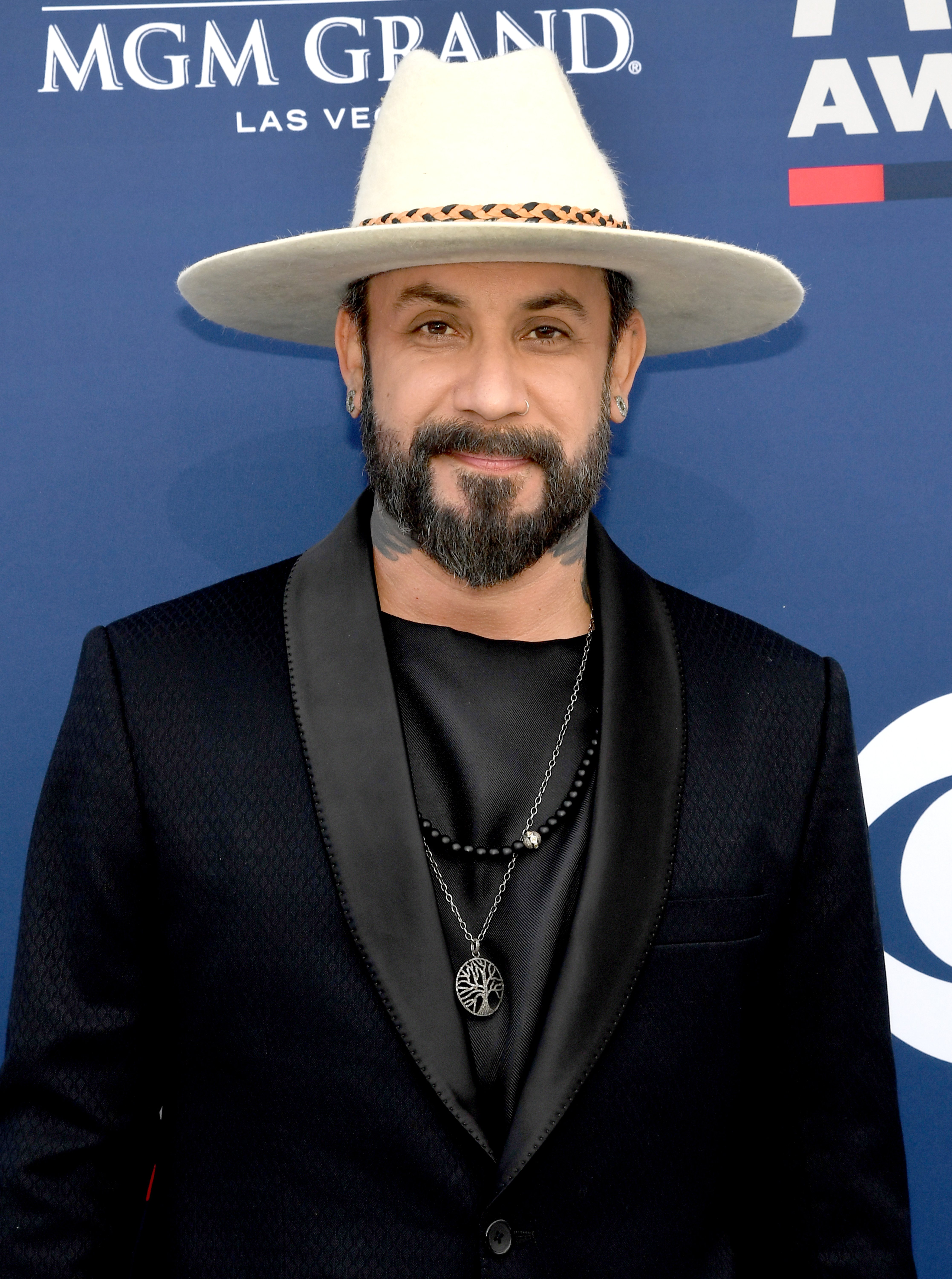 AJ McLean attends the 54th Academy Of Country Music Awards on April 07, 2019. | Photo: Getty Images.