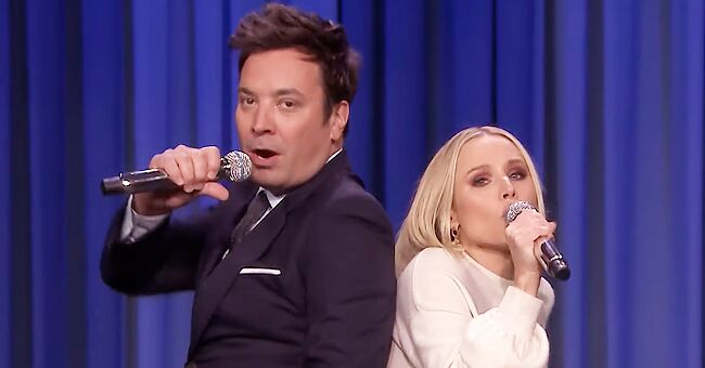 Kristen Bell and Jimmy Fallon Impressively Sing 17 Disney Songs in 5 Minutes on 'the Tonight Show'
