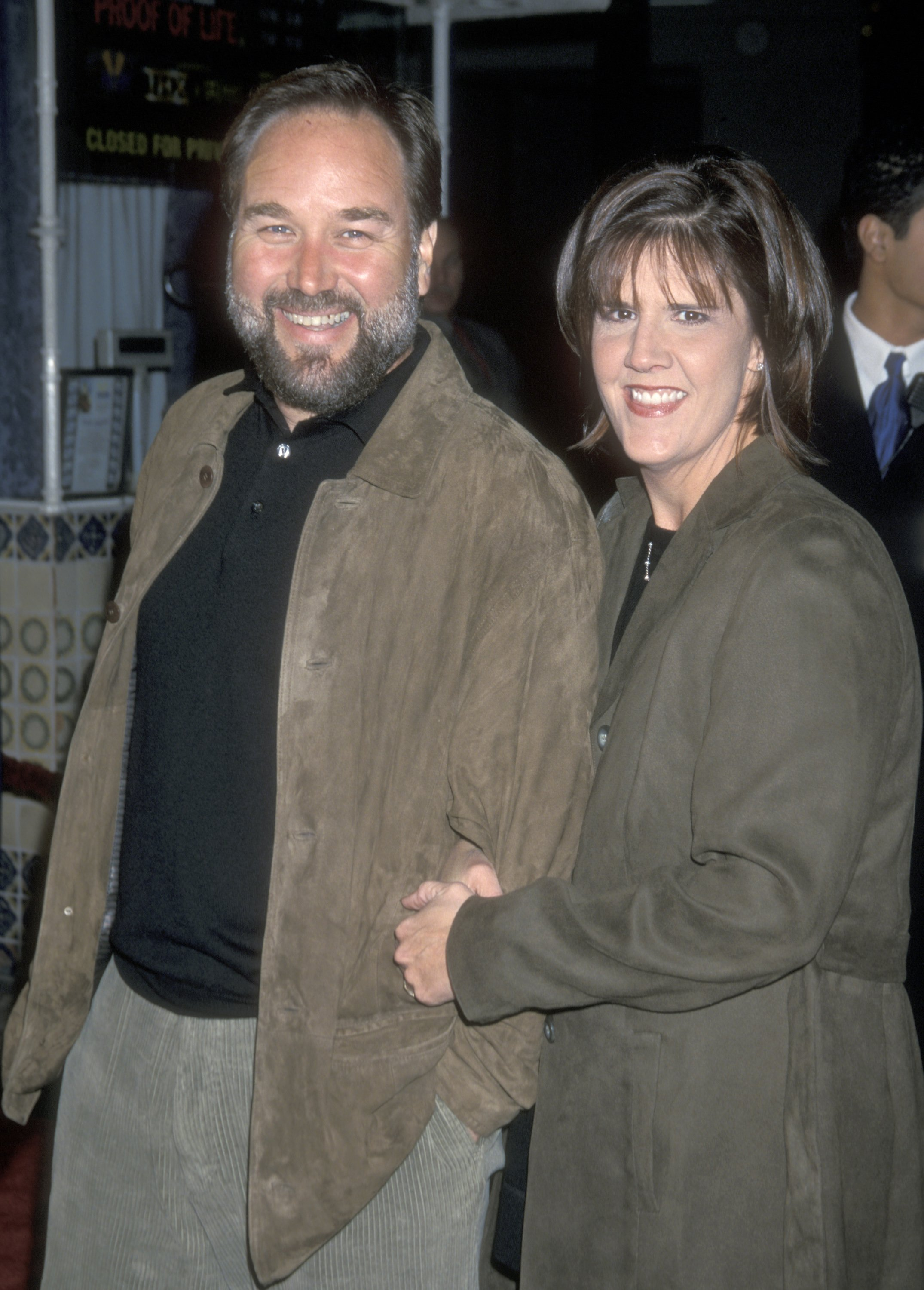 Richard Karn and wife Tudi Roche attend the 'What Women Want' Westwood Premiere on December 13, 2000 at Mann Village Theatre | Photo: Getty Images