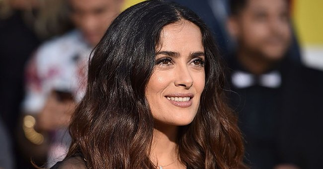 Salma Hayek Praises Husband in a Sweet Post with Rare Photo of Him & Their Daughter Valentina