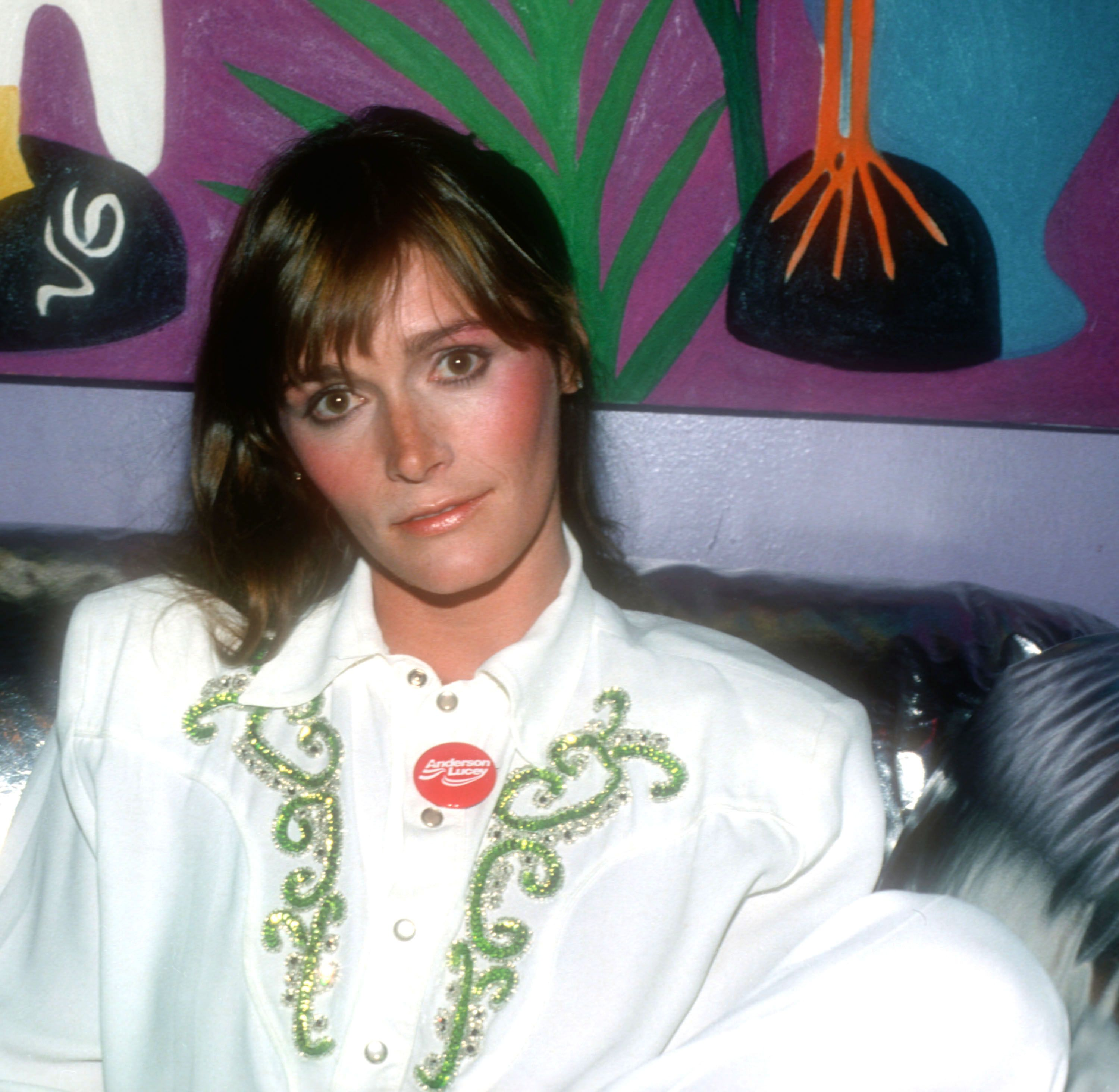 Actress Margot Kidder posing for a candid photo in 1980 in New York City | Source: Getty Images