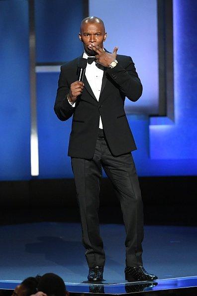 Jamie Foxx, 47th AFI Life Achievement Award zu Ehren von Denzel Washington | Quelle: Getty Images