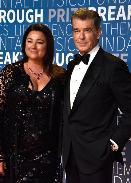 Keely Shaye Smith et Pierce Brosnan au NASA Ames Research Center le 4 novembre 2018 à Mountain View, Californie. | Photo : Getty Images
