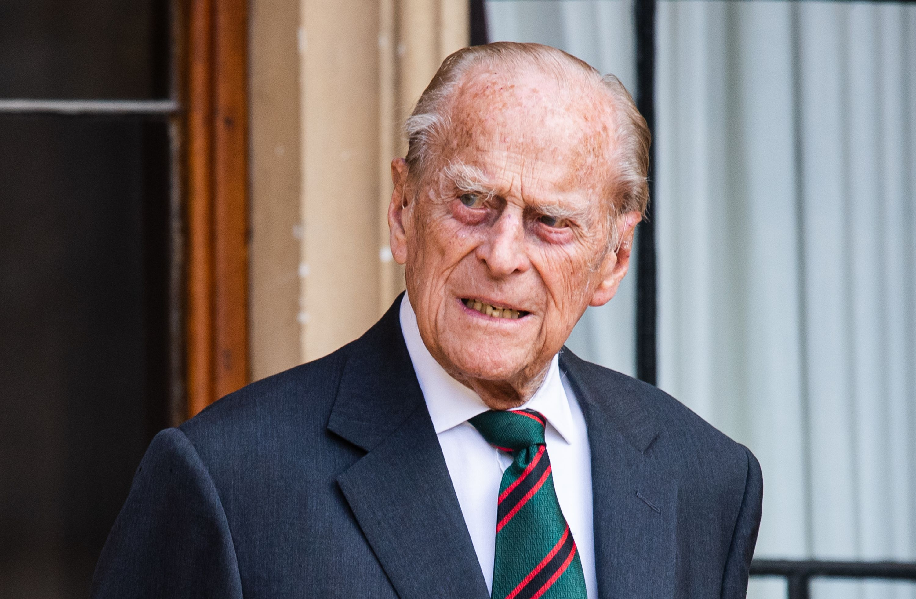 Prince Philip at the transfer of the Colonel-in-Chief of The Rifles at Windsor Castle on July 22, 2020 | Photo: Getty Images