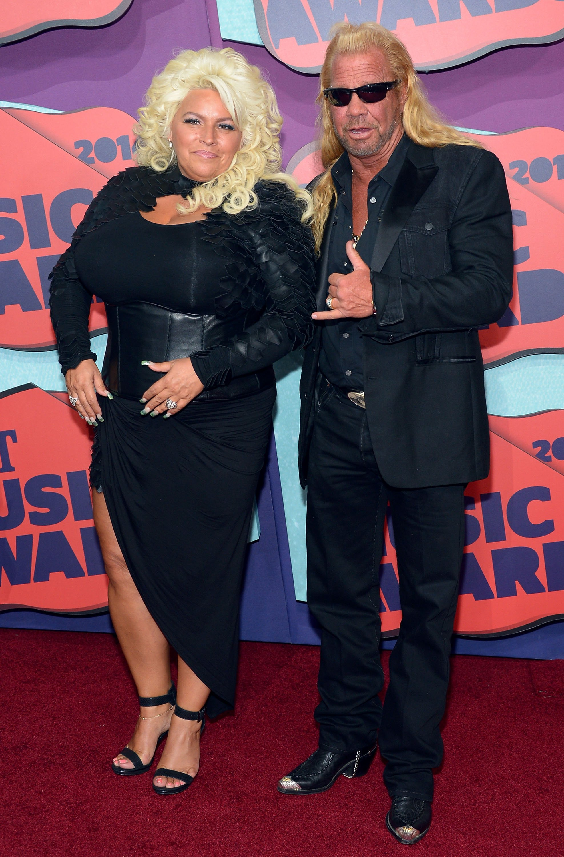 Beth Chapman and Duane Chapman attend the 2014 CMT Music awards at the Bridgestone Arena on June 4, 2014 in Nashville, Tennessee.| Source : Getty Images