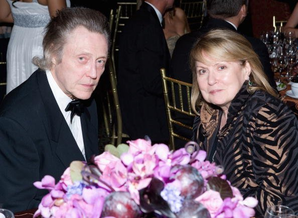Christopher Walken and wife Georgianne Walken at the 2008 Princess Grace Awards Gala in New York City.| Photo: Getty Images.