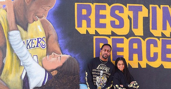 'Family Matters' Star Jaleel White & Daughter Pose in Matching Outfits near Kobe Bryant Murals
