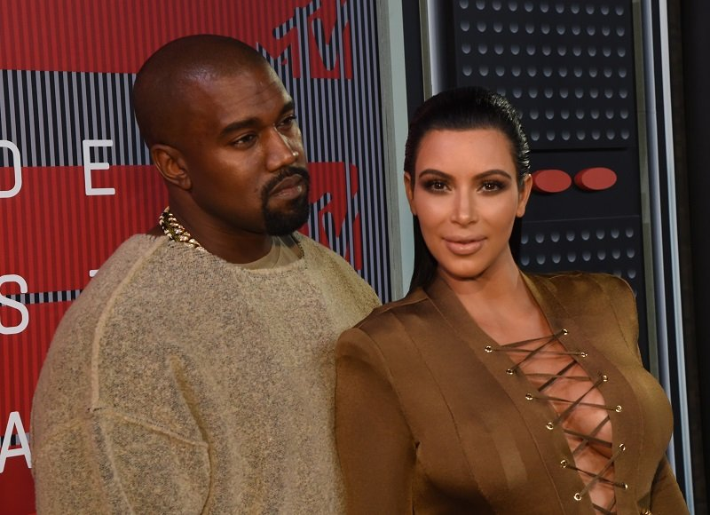 Kayne West and Kim Kardashian West on August 30, 2015 in Los Angeles, California | Photo: Getty Images